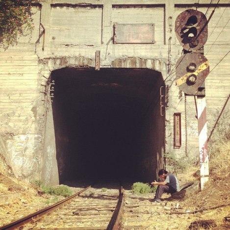 Entrada del túnel Matucana